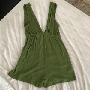 Urban Outfitters Green Romper